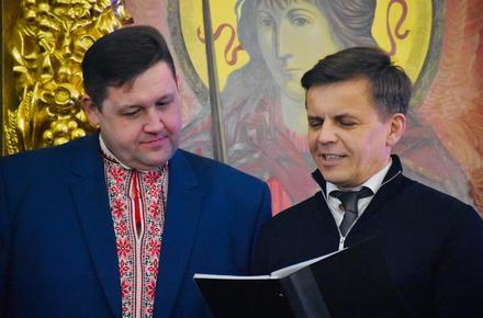 beef60c6c0ff51ad6de47b9561ba4d34 preview w440 h290 - Голова Житомирської ОДА виклав фото спільної різдвяної молитви керівників у Свято-Михайлівському соборі