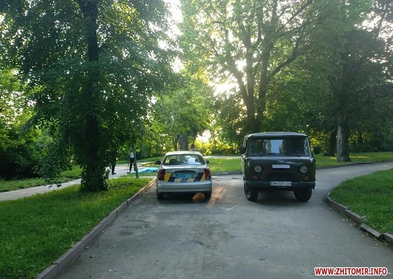 в Житомирі знайден мертвим 38-річний чоловік