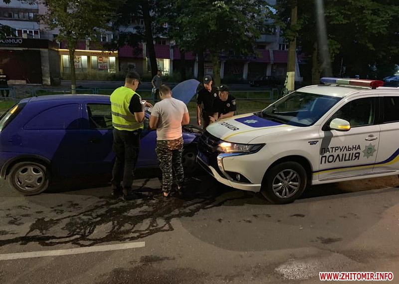 ДТП з поліцейським в Житомирі