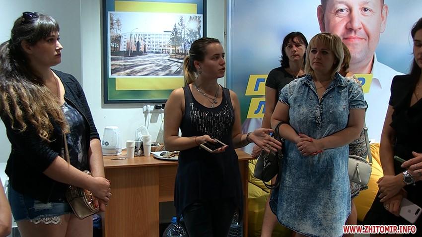 Работа за бесплатно! В Житомирской области агитаторы пришли требовать расплаты прямо в офис кандидата Гундича