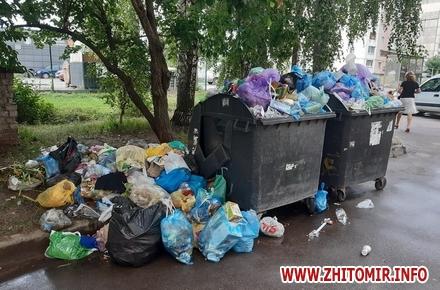 5267fa2a18a8f467936a2e77455513bf preview w440 h290 - Начальник житомирського КАТП пояснив, чому на Богунії п'ятий день не вивозять сміття