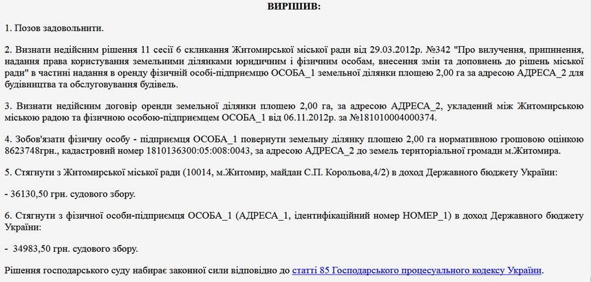 5da7309b1b1c6 original w859 h569 - У Житомирі поліція розслідує підробку документів щодо будівництва комплексу «Волна» на повернутій місту земельній ділянці