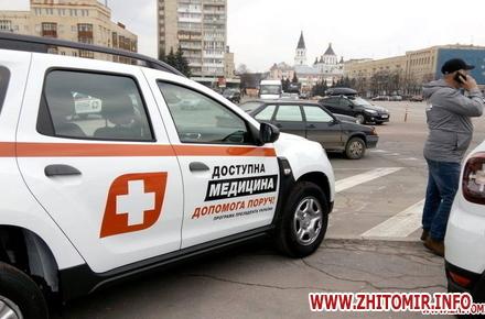 b8fd0046acee6da3edb8fc2ed3a047a7 preview w440 h290 - Для сільських медиків Житомирської області хочуть купити нові автомобілі за 8 млн грн
