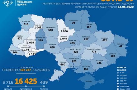 cb77677ed5d8e456976d73d23f85a921 preview w440 h290 - В Україні зафіксовано 402 нові випадки COVID-19, всього виявлено хворих 16425 людей