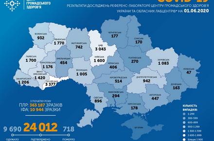 332ad47db3a67e4355d5baf984221c05 preview w440 h290 - В Україні вже 24 тисячі виявлених випадків коронавірусу, одужали майже десять тисяч осіб, померли 718 людей