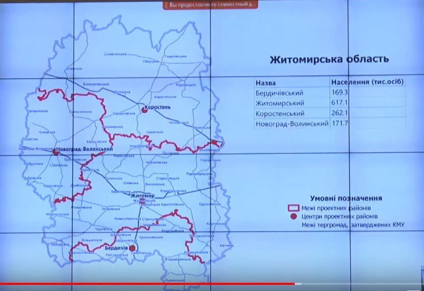 5ee363ab5d831 original w859 h569 - Уряд затвердив територіальні громади та нові райони Житомирської області, пропозицію Бунечка врахували