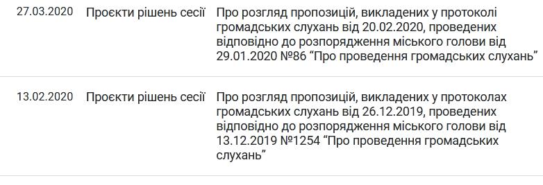 5ef0be1821ce6 original w859 h569 - Житомирські депутати відправили на доопрацювання два проєкти рішення щодо результатів громадських слухань