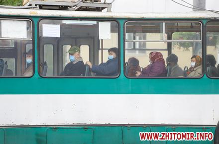 e3605d6b7f82b2a40e5715479705b803 preview w440 h290 - «Червоний» Житомир: на вулиці побільшало людей у масках, салони маршруток і тролейбусів «просвічуються». Фоторепортаж