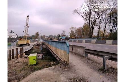 6fe7847670c9d8fcc78fe60180513ca7 preview w440 h290 - На півночі Житомирської області готуються до капремонту мосту: вирубали чагарники, облаштовують тимчасову переправу