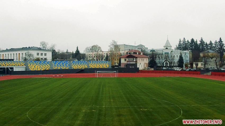 стадион Полесье в Житомире - реконструкция