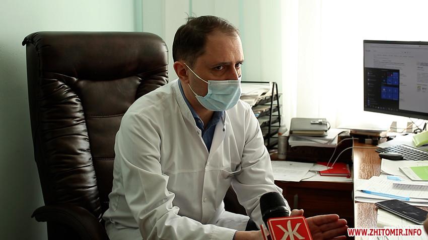Побори в лікарні у пологовому відділенні в Житомир