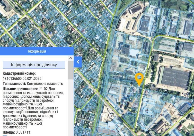 60c73c99d3717 original w859 h569 - Влада Житомира хоче виставити на аукціон дві земельні ділянки в промзоні