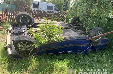 f720dd86d7468f0c20646db6665a1e97 preview w440 h290 - У селі Житомирської області ВАЗ влетів у паркан та перекинувся: водій загинув на місці