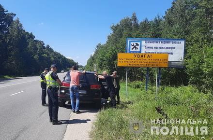 c4aab0b247d215fbf12c534715b244d4 preview w440 h290 - У Житомирській області поліція проводила навчання з розшуку викраденого авто: перевіряла чорні Volkswagen і з погонею затримувала «крадія»