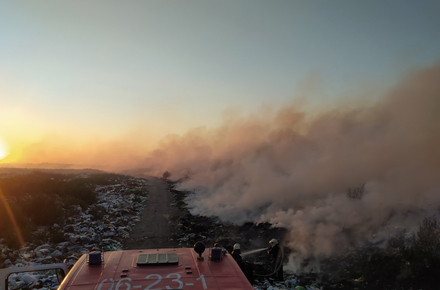 1f8373fc9525b970ccca065a98666731 preview w440 h290 - У селищі Житомирської області горить сміття на полігоні