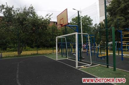 46d0561fc9be7ab2431e478846aebfb7 preview w440 h290 - Шість спортивних майданчиків у Житомирі, які реконструювали за кошти державної субвенції кілька років тому. Фоторепортаж