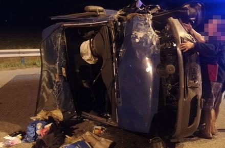 b44b4b258f063629eaf8c20f10833df9 preview w440 h290 - Поліція шукає свідків подвійної ДТП на розв'язці поблизу Житомира, у якій загинув водій ВАЗ