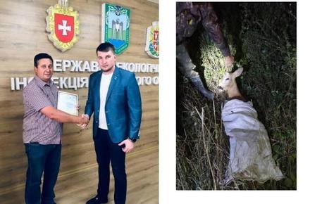b8f22ffa1949dd4fd728343d54de9e20 preview w440 h290 - Екологи відзначили громадського інспектора з Житомирської області, який сповістив про постріли в лісі і допоміг затримати браконьєра