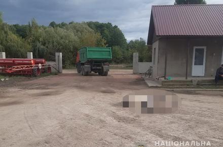 9fd3888cf08c3376f9519ddfd5cccdeb preview w440 h290 - У селі Житомирської області КамАЗ виїжджав з тракторного парку і переїхав працівника господарства: чоловік загинув