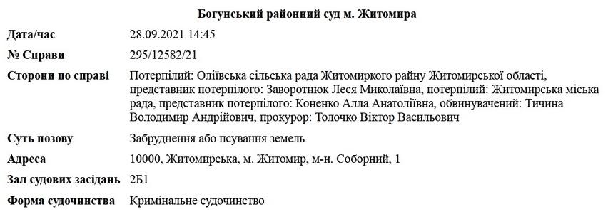 615301d62710b original w859 h569 - У Житомирі депутата судитимуть за забруднення земель: майно арештували, щоб мав чим відшкодувати 50,7 млн збитків